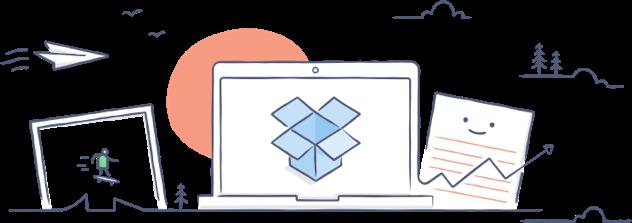 Đăng kí tài khoản Dropbox